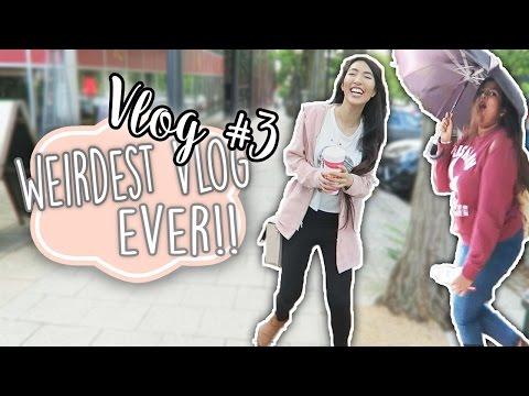 Five Guys, Milton Keynes, Weird Vlog (Vlog #3) | Emily Liu