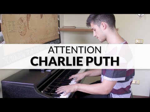 Charlie Puth - Attention | Piano Cover