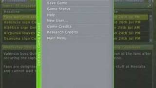 Football Manager 2007 XBox tutorial part 1