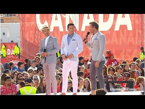 WE Day Canada - The Tenors sing Hallelujah with youth choir