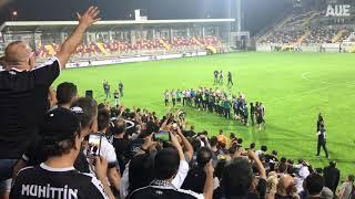 Video 223 | Altay'ın, Altınordu'yu 4-0 Mağlup Ettiği Maçtan Sonra Taraftarlarıyla Coşkusu !