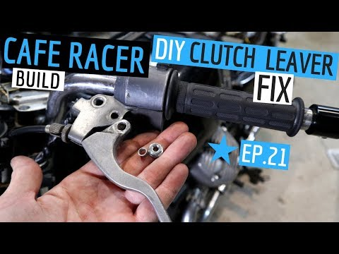 Clutch Lever Fix - DIY Cafe Racer Build ★ Ep.21, Mail Time