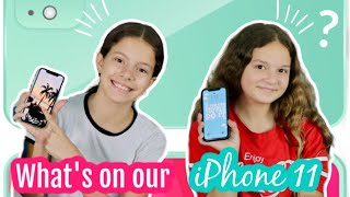 """What's on our  iPhone 11 """" UPDATE """" 
