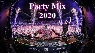 EDM Party Mix 2020 - Best Remixes, Songs & Mashups Of Popular Songs