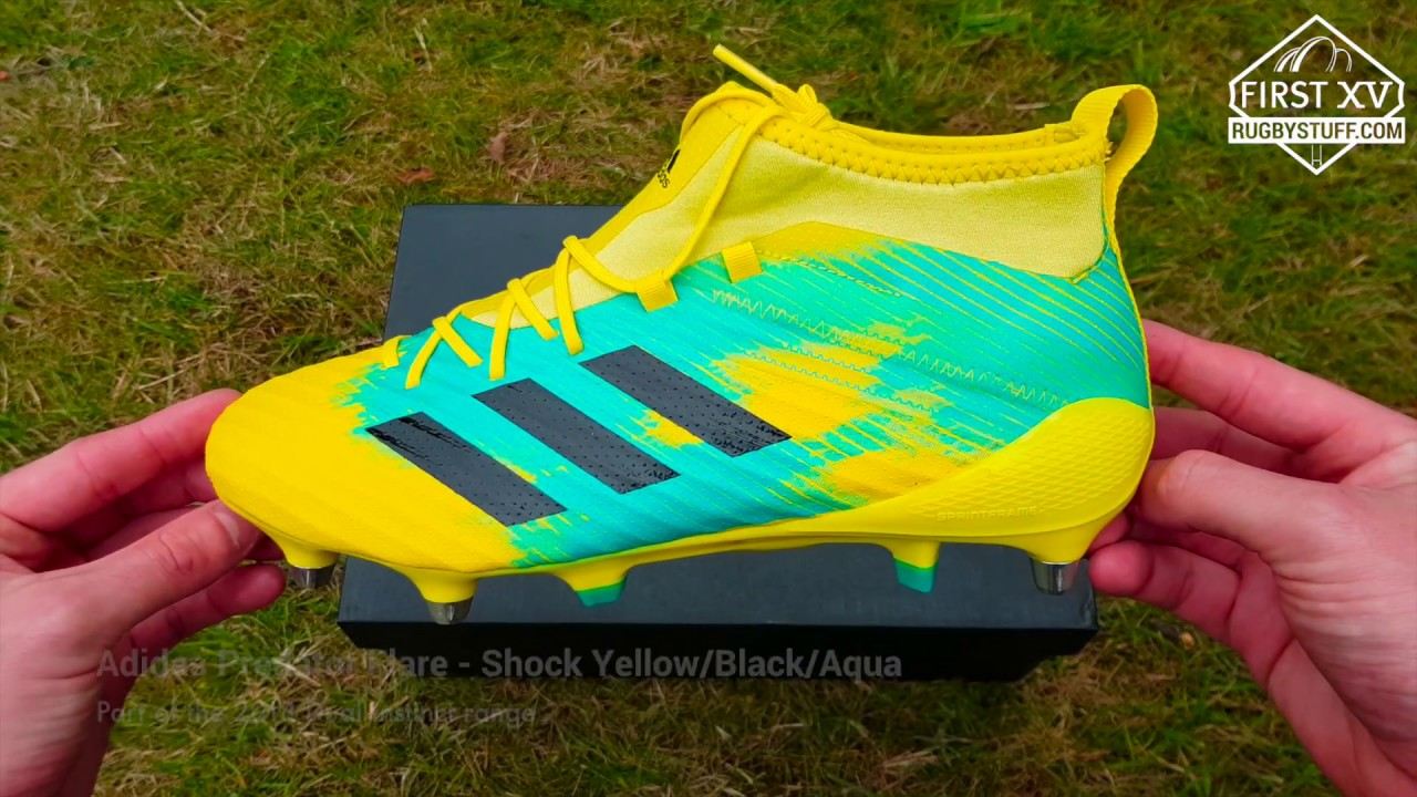 57e0ba12b0c3 Adidas Predator Flare SG Rugby Boots - 2018 Dual Instinct Collection ...