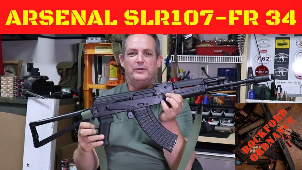 Arsenal Slr107 Fr 34 Youtube