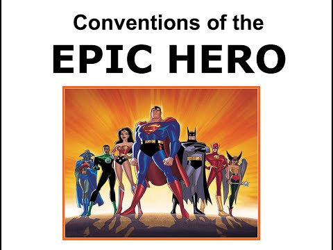 Mrs. Firth's Conventions of the Epic Poem and Epic Hero