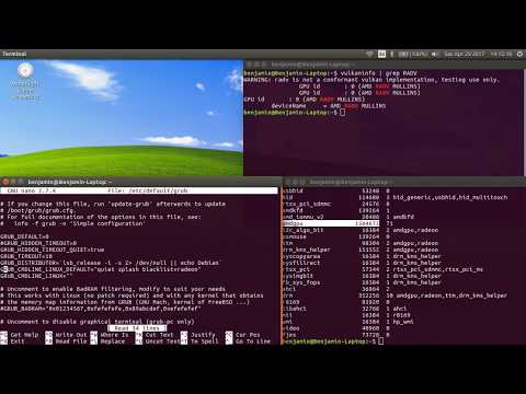 Ubuntu 17 04-19 04 Enable AMDGPU(CIK&SI) & Vulkan(RADV)