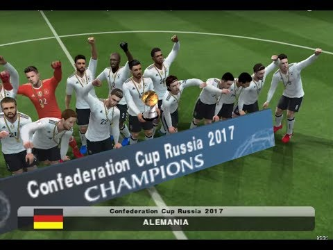 PES 2017 (PS2) Chile vs Germany - Confederation Cup 2017 - FINAL