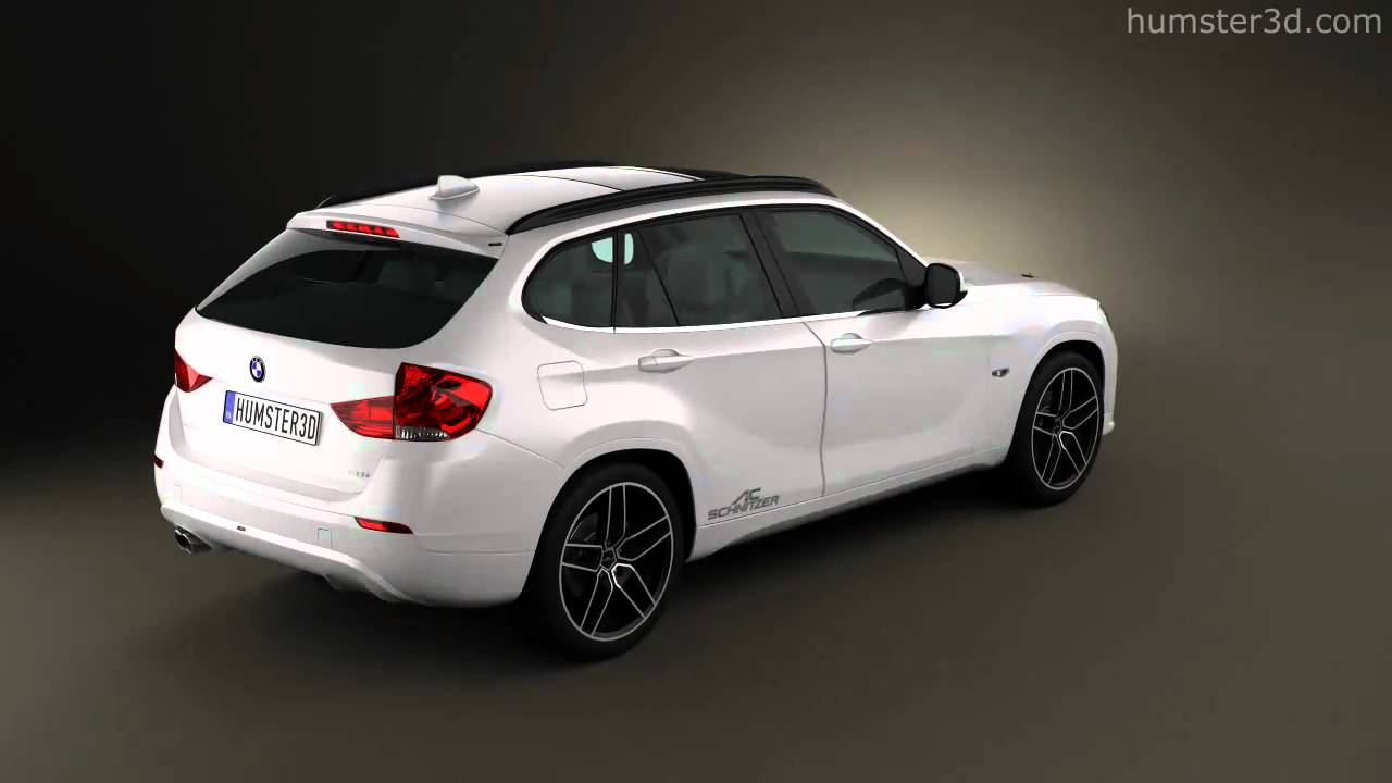 bmw x1 2010 ac schnitzer by 3d model store youtube. Black Bedroom Furniture Sets. Home Design Ideas