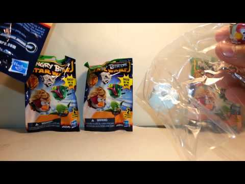 Angry Birds Star Wars Mystery Packs Series 2 Unboxing Part 2