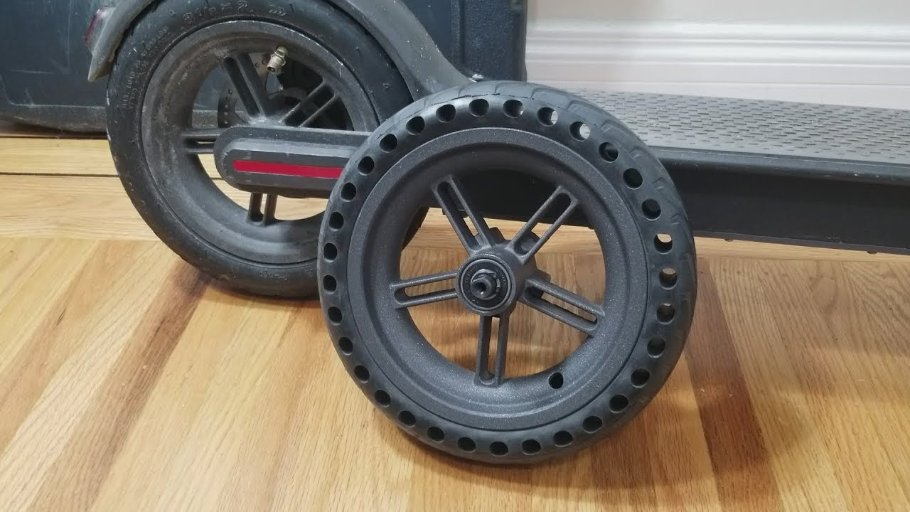 Xiaomi M365 Pre Mounted Solid Tire Review