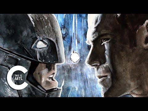 BATMAN VS SUPERMAN SPEED ART | CANVAS PICKS