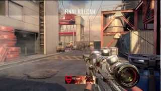 CoD BO2: 70 Kill DSR-50 Quickscoping Gameplay