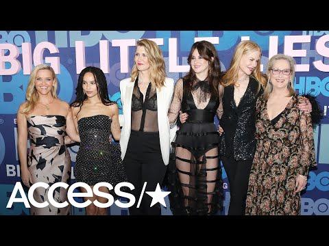 'Big Little Lies' Cast Talk 'Newbie' Meryl Streep Joining Their Family & Teasing Her On Set | Access