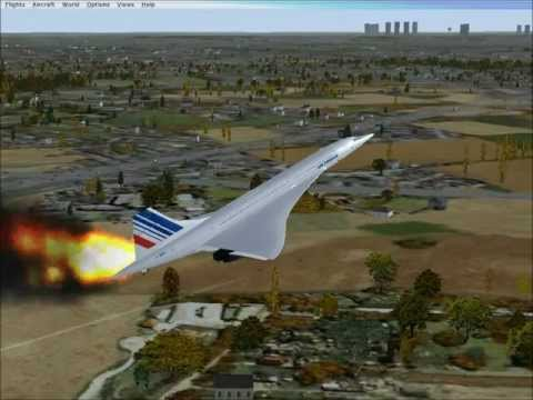 Concorde flight 4590 (FSX)