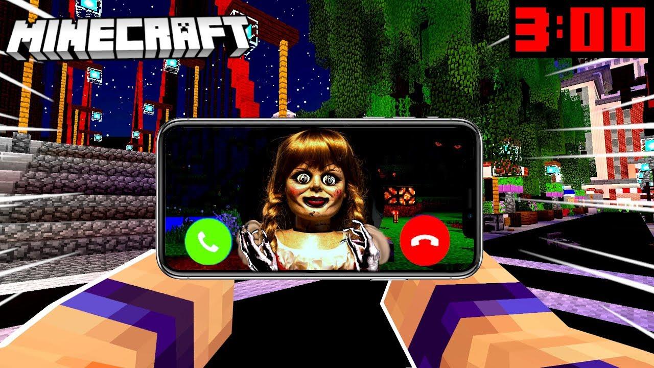 Download NIE ODBIERAJ TELEFONU OD ZŁEJ LALKI ANNABELLE O 3:00 W NOCY BO SPOTKASZ JĄ W MINECRAFT