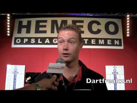 Interview Wesley Harms tijdens het Hemeco Open 2012