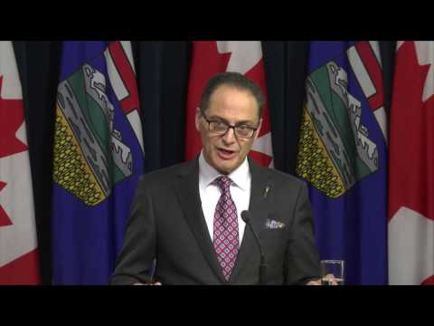 Alberta 3rd Quarter update - Feb 23, 2017