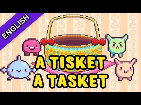 8 Bit Kids Songs 2017 | A-Tisket A-Tasket | Bibitsku Songs For Kids 2017