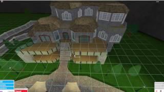 Roblox |Bloxburg Villa build 300k!!!!
