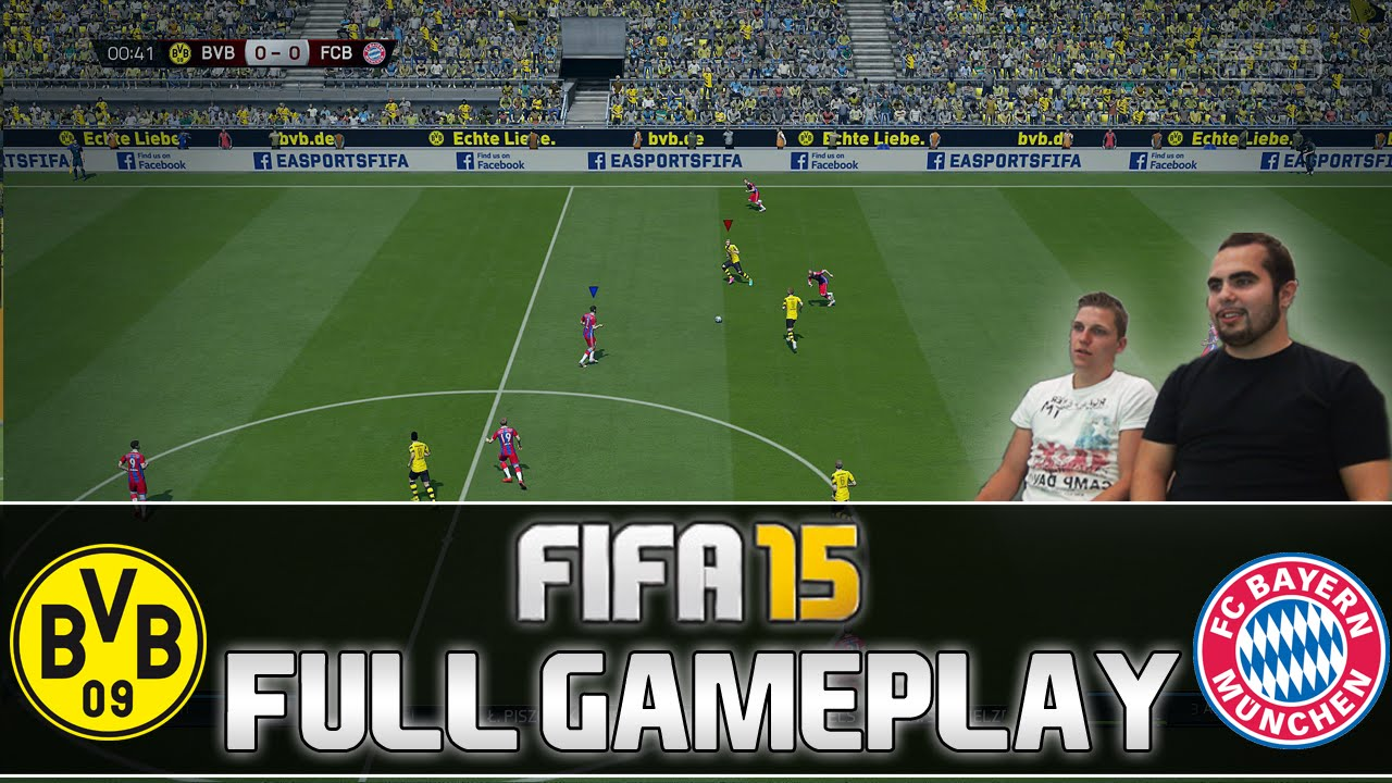 Facebook Dortmund Fifa 15 Full Gameplay Borussia Dortmund Vs Fc Bayern München Deutsch By Patrickhdxgaming