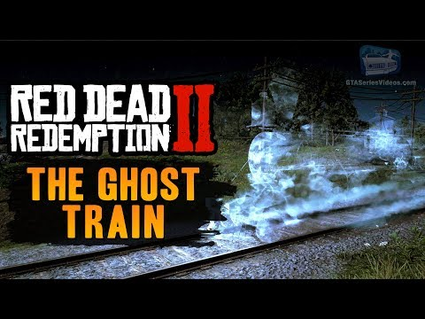 Red Dead Redemption 2 Easter Egg #3 - Ghost Train