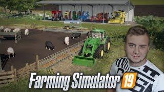 Kupujemy świnie, wiata & porządki na Farmie! ✔ [ Od początku, do majątku #5 ] Farming Simulator 19