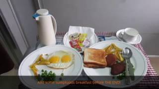 Howrah Rajdhani: Food served on board First AC/AC First Class!