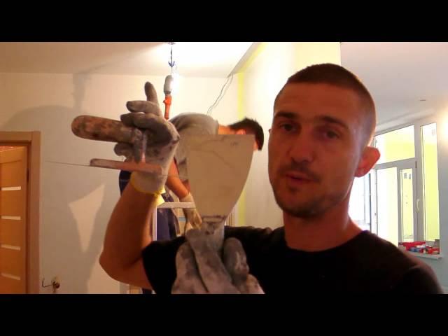 Фактурная штукатурка своими руками от Юрия Реброва.