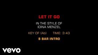 Idina Menzel - Let It Go (Karaoke) thumbnail