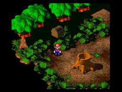 Super Mario RPG Forest Maze 8-bit Mix