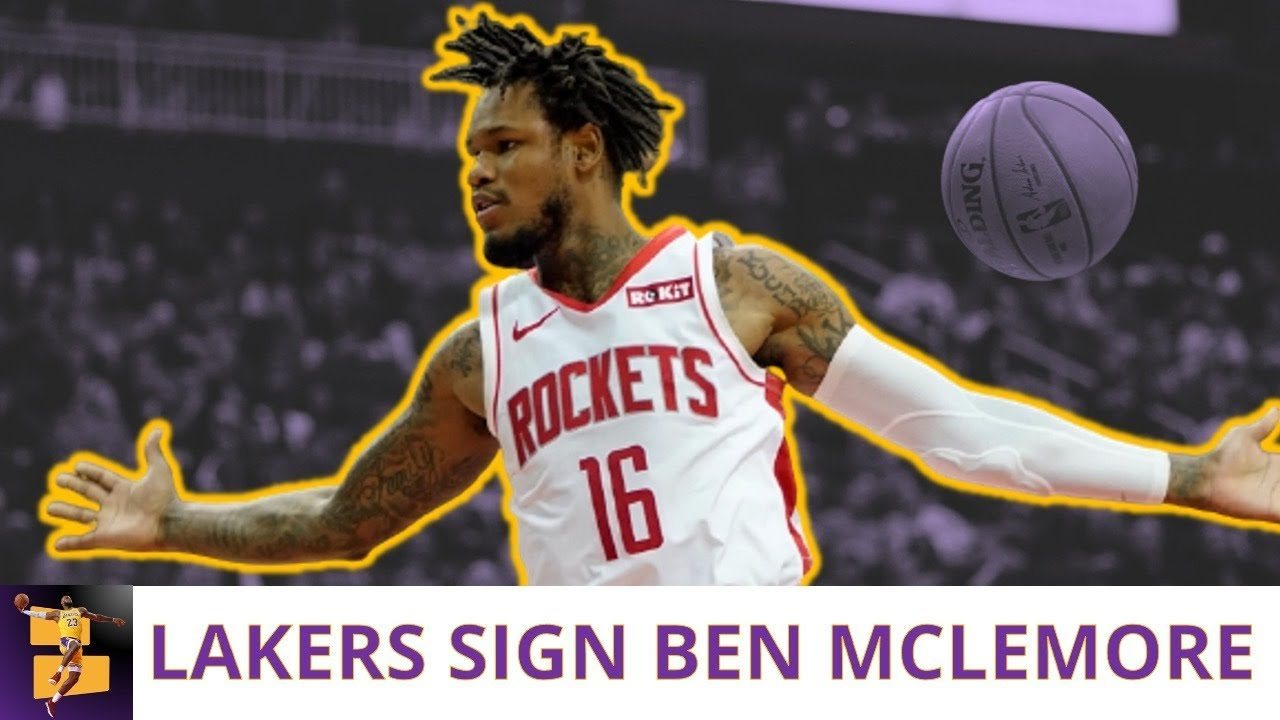 Lakers sign Ben McLemore for rest of season, fill final roster spot