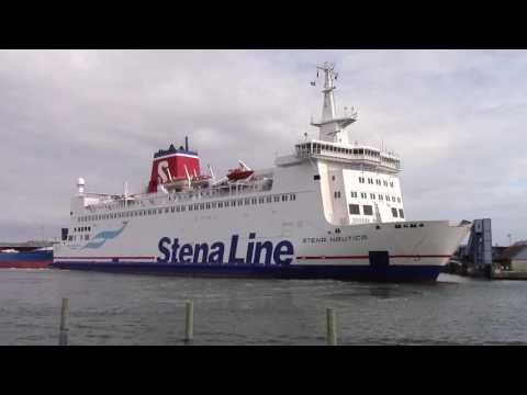 Stena Nautica arriving Varberg