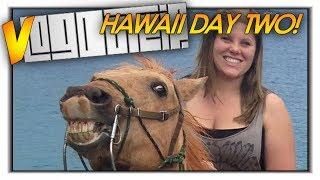 vLogdotzip: When Animals ATTACK! Hawaii Vlog w/ SkyDoesMinecraft (2)