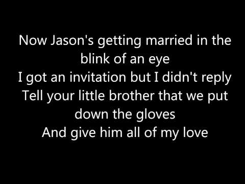 The Killers - Just Another Girl Lyric Video (lyrics On Screen)