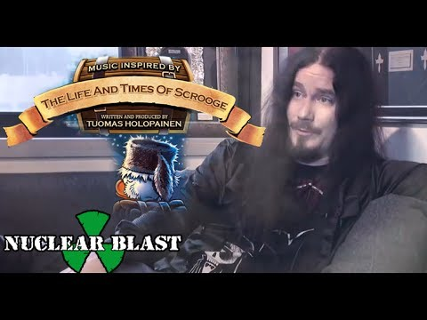 TUOMAS HOLOPAINEN - The Life And Times Of Scrooge (OFFICIAL INTERVIEW)