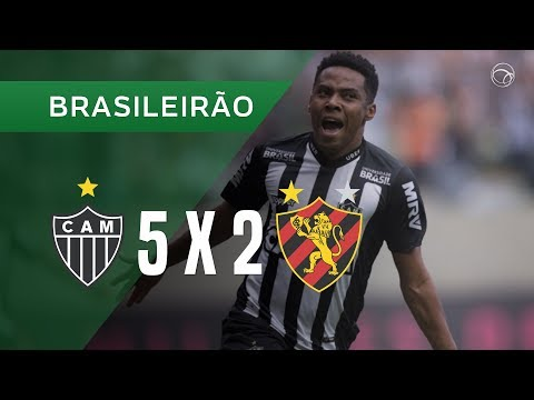 ATLÉTICO-MG 5 X 2 SPORT - GOLS - 30/09 - BRASILEIRÃO 2018