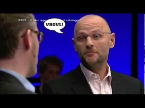 Henrik Qvortrup leverer stråmænd på stribe i Debatten på DR2