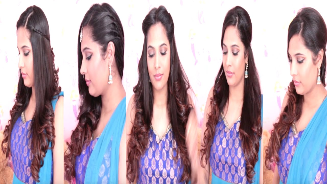 5 Simple And Easy Hairstyle Desi Hairstyles Youtube