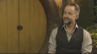 "the hobbit the battle of the five armies billy boyd interview on song ""the last goodbye"""