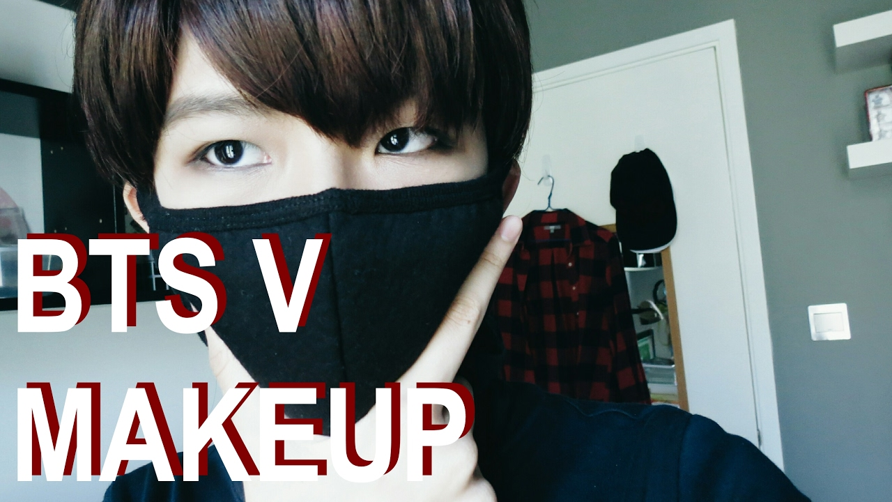 BTS V Kim Taehyung Makeup Tutorial YouTube - Bts v hairstyle tutorial