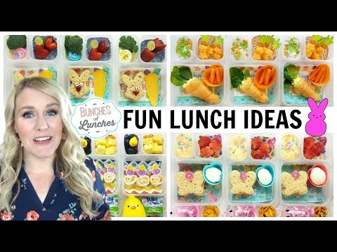 Fun Easter Lunch Ideas + What They Ate   JK, K, 1st Grade, 2nd Grade   Bunches Of Lunches