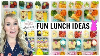 Fun Easter Lunch Ideas + What They Ate | JK, K, 1st grade, 2nd Grade | Bunches of Lunches