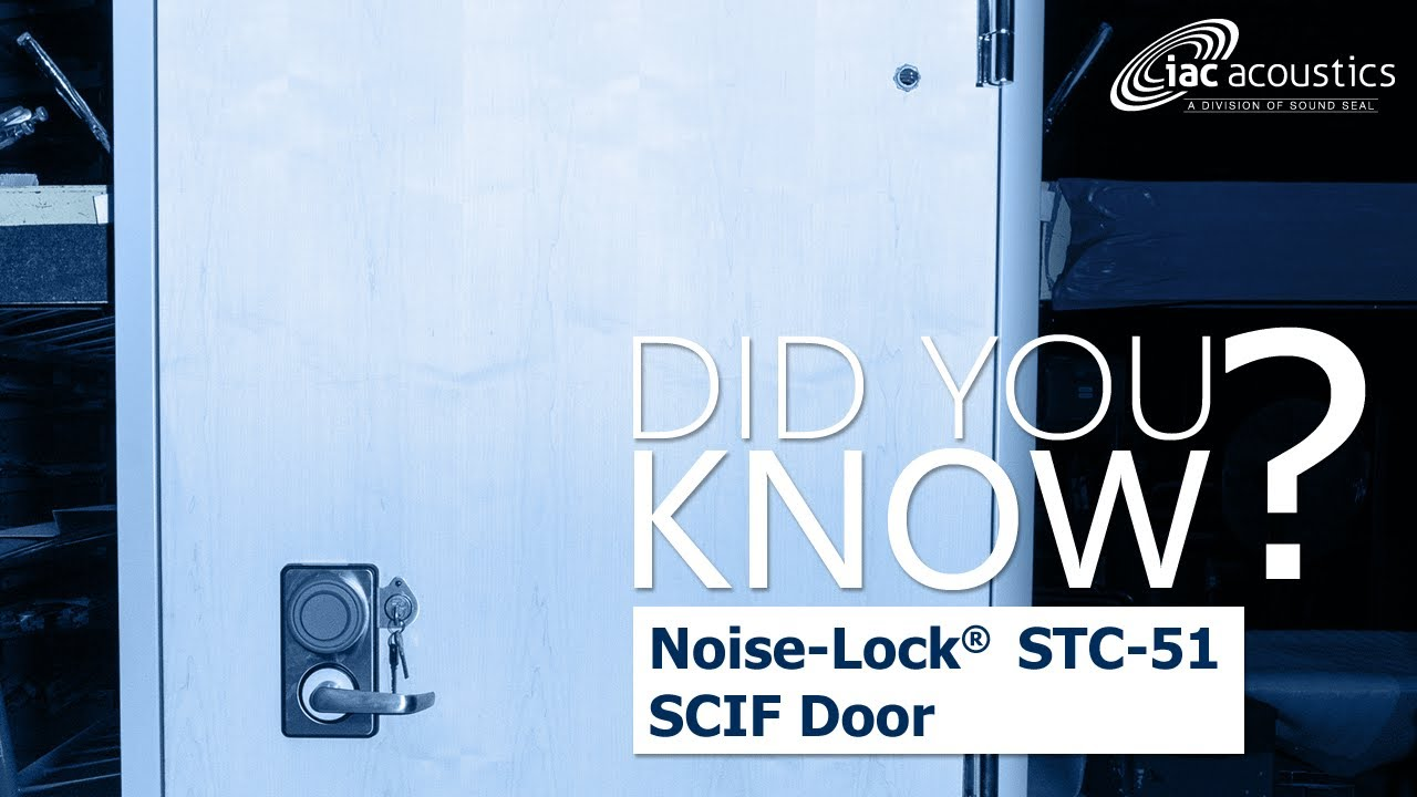 IAC Acoustics Did You Know STC-51 SCIF Door  sc 1 st  YouTube & IAC Acoustics Did You Know STC-51 SCIF Door - YouTube pezcame.com