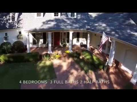 Real Estate Promo footage Southern Living Cottage at Lake Oconee, Georgia