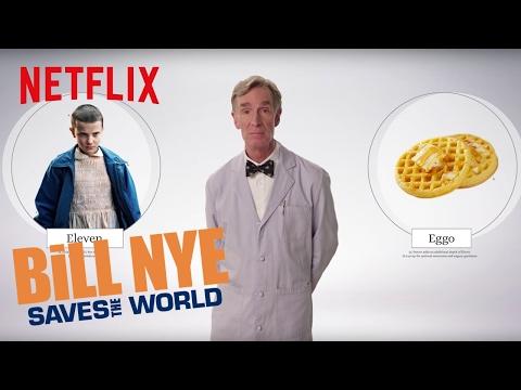 Bill Nye Explains: Stranger Things  Netflix