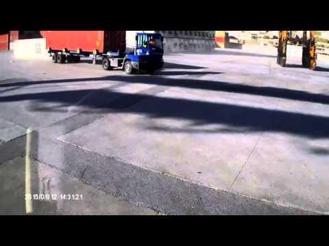 Ατύχημα στην προβλήτα ΙΙ της Cosco