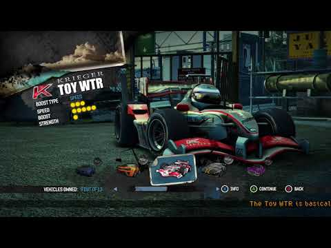 Burnout Paradise Remastered New Toy Cars \\ Toy F1 Gameplay!