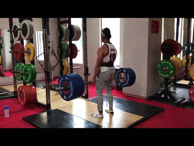 New PB: Deadlift 180kg x 3